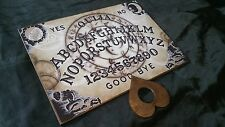 Wooden Ouija Board & Planchette & Instructions Bizarre Symbol Magick LARGE A3