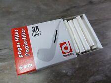 DENICOTEA Papierfilter 6 mm - 36 Stück - NEU - 010106