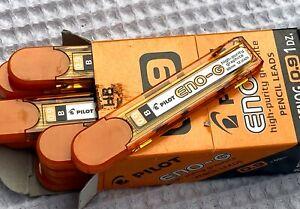 Retro Pilot Eno-G High Purity HB Graphite Pencil Lead Tubes Box (#AR2390)