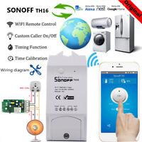 Sonoff TH10/ TH16 Temperature Humidity Monitoring WiFi Smart Switch Smart Home