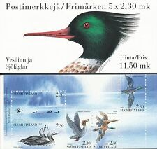 Finland 1993 MNH Booklet - Nordic Water Birds - Gavia Arctica - FAUNA