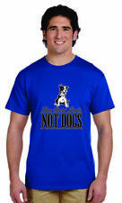 Ban Stupid People Not Dogs Funny Novelty T Shirt Rude Humor Bubba's Tees