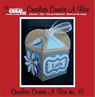 Crealies CREA UN CAJA Set Plantillas Nº 10 FANTASÍA Esténciles De Corte CCAB10