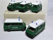 Wiking 1:87 Mercedes Benz 207 D Bus Polizei 1082 OVP - 5 Stück im Händlerkarton