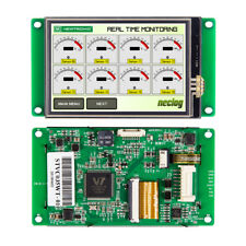 3.5 Inch Smart HMI TFT LCD Module with Touch Screen&RS232/RS485/TTL Interface
