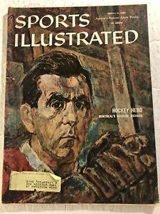 1960 Sports Illustrated MONTREAL Canadian MAURICE RICHARD Hockey Hero THE ROCKET