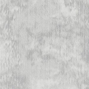 Haze Silver By Clarke & Clarke - Marble Effect Fabric - 2 Metre Piece