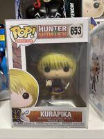KURAPIKA #653 HUNTER X HUNTER ANIMATION Funko Pop! New In Box