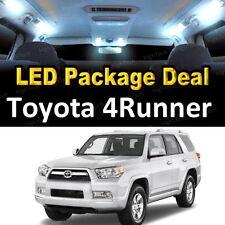 12x White LED Lights Interior Package Deal For 2010 - 2016 2017 Toyota 4Runner