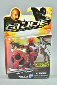 "GI Joe Retaliation Alley Viper 3.75"" MOSC Hasbro"