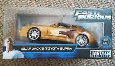 Jada Fast and Furious Slap Jack's Toyota Supra 1:24, 1/24 Diecast Model.
