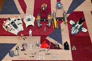 Star Wars Toy Figure Bundle Joblot Hasbro - See Details