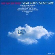 Hans Hartz Frei wie der Wind-Die Balladen [CD]