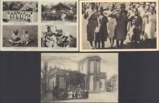 Lot of 3 Sweden Postcards. Christian Missionaries in Turkey and South Africa