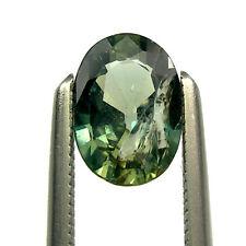 0.67 carat Oval 6.5x4.5mm Green/Yellow Natural Australian Parti Sapphire, OPS47
