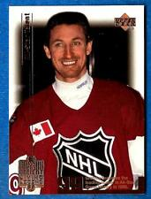 1999-00 Upper Deck WAYNE GRETZKY  Living Legend 99 - card # 74 (ex-mt)