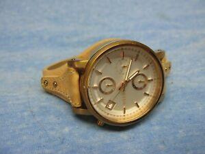 "Women's FOSSIL ""Original Boyfriend"" Chronograph Watch ES3748 w/ New Battery"