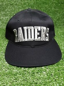 Vintage Starter Raiders Snapback Hat Spellout Los Angeles Oakland NWA Ice Cube