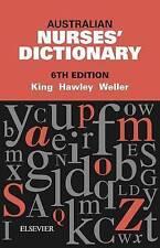 Australian Nurses' Dictionary 6th Edition by Hawley Paperback Book