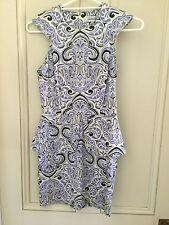 Peplum Geometric Regular Size Dresses for Women
