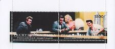 HOLLYWOOD STARS JAMES DEAN BOGART MONROE PRESLEY DINER SCENE MNH STAMP SHEETLET