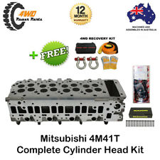Mitsubishi 4M41T Pajero NP NM Complete Cylinder Head w/ VRS Gasket & Head Bolts