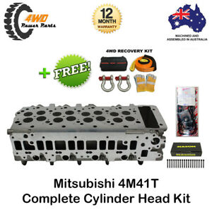 Complete Cylinder Head VRS Gasket & Head Bolts for Mitsubishi 4M41T Pajero NP NM