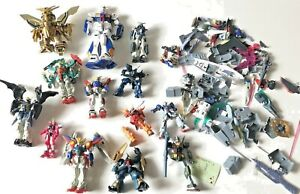 Gundam Action Figure Parts lot some figures (incomplete) toys models