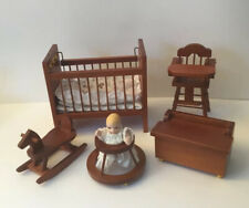 Dolls House Nursery Furniture And Baby