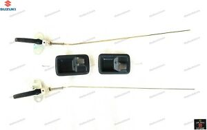 OEM SUZUKI SAMURAI SIERRA DROVER GYPSY INTERIOR DOOR HANDLE WITH ROD( PAIR)