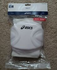 Asics Rally Volleyball Knee Pads (pair) White, One size Fits Most Adult
