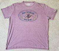 Lucky Brand Men's Not So Bear Beer T-Shirt Size XXL NWOT