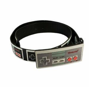 Nintendo NES Controller Belt Buckle & Belt size 34 Bioworld Vintage Throwback