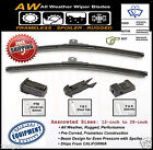 "2PC 26"" / 24"" Direct OE Replacement Premium ALL Weather Windshield Wiper Blades"