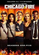 Chicago Fire Seasons 1 5 DVD