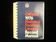 1976 Official National Football League (NFL) Record Manual