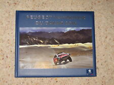 Peugeot Sport Total Dakar 2016 Book Pictures 2008 Dkr Rally