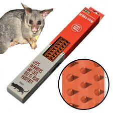 PEST-STOP PRIKKA STRIPS (4 Metres) - Fence & Wall Intruder Spikes for Possum Cat