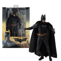NECA DC Comic Batman Begins Arkham City 18cm Christian Bale Action Figure Model
