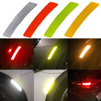 2x Car Tail Reflective Motorcycle Wheel Rims Stickers Truck Warning Decal Strips