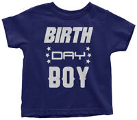 Birth Day Boy Toddler T-Shirt Cute Birthday Party Son Outfit Gift