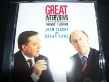 Great Interviews Of The Twentieth Century John Clarke & Bryan Dawe‎ CD – Like Ne