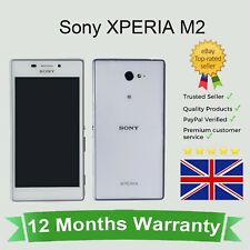 Unlocked Sony Xperia M2 Android Cellular Mobile Phone 8GB White