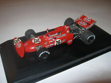 1:43 STP March Alfa 711 N. Lauda 1971 TEANRIV handbuilt modelcar in showcase