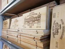 Pack de 6 en bois Coffret Vin fin panneaux/Plaques/IMPRIME/gravé fin MORCEAU.
