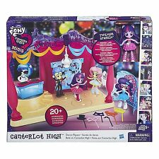 NEW My Little Pony Equestria Canterlot High Dance Playset + Twilight Sparkle