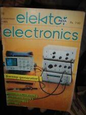 INDIA RARE - ELEKTOR ELECTRONICS MAGAZINE 1985 TO 1990  - 5 IN 1 LOT