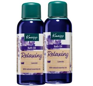 Kneipp Relaxing Lavender Oils bath relieves 2X 100ML