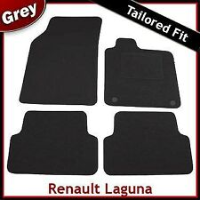 Renault Laguna Tailored Fitted Carpet Car Mats GREY (2007 2008 2009 2010 ...)