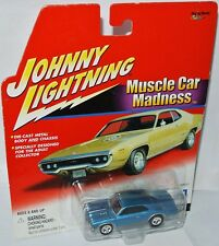 MUSCLE CAR Madness - 1966 CHEVY CHEVELLE SS-Blue - 1:64 Johnny Lightning
